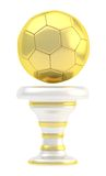 Award football sport trophy cup Royalty Free Stock Photography
