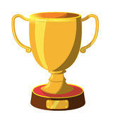 Award Gold icon cartoon Stock Photography