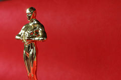 Award. Gold statue award Royalty Free Stock Photography