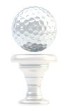Award golf ball sport trophy cup Royalty Free Stock Image