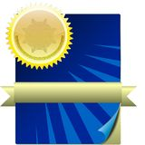 Award Graphics Royalty Free Stock Photography