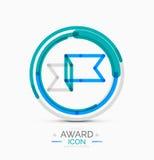 Award icon, logo Stock Photos