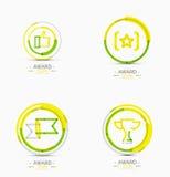 Award icon set, Logo collection Royalty Free Stock Photography