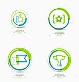 Award icon set, Logo collection Royalty Free Stock Photo