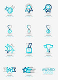 Award icon set, Logo collection Royalty Free Stock Image