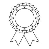 Award icon vector thin line Stock Image