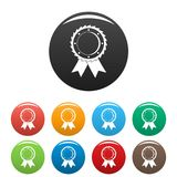 Award icon vector simple. Award icon. Simple illustration of award vector icon isolated on white background Stock Image