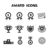 Award icons Royalty Free Stock Photo