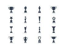 Award icons Royalty Free Stock Photography