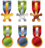 Award medal Stock Photos