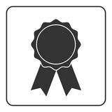 Award medal icon gray 2 Stock Photo