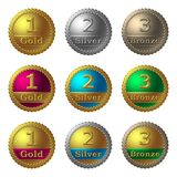 Award Medals Royalty Free Stock Photos