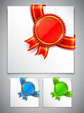 Award Medals Corners Royalty Free Stock Images