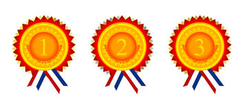 Award Medals Stock Images