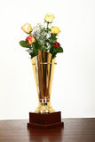Award for nicest flowers Stock Image