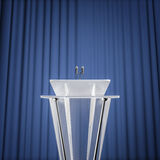 Award press conference Royalty Free Stock Image