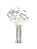Award prize statuette cup isolated on white Stock Image