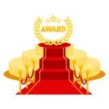 Award red carpet Stock Photo