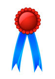 Award ribbon. Vector illustration of  an award ribbon Stock Image