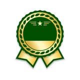 Award ribbon gold Royalty Free Stock Photo