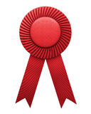 Award ribbon isolated Royalty Free Stock Photography