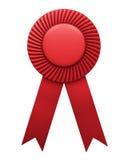Award ribbon isolated vector illustration