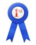 Award ribbon isolated royalty free stock photo