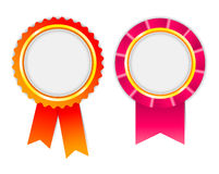 Award ribbon, rosette Royalty Free Stock Photo