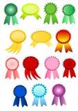 Award ribbons Royalty Free Stock Photos
