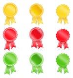 Award ribbons Stock Image