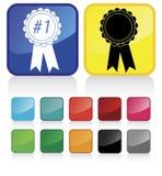 Award ribbons stock illustration