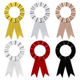 Award Ribbons Stock Image
