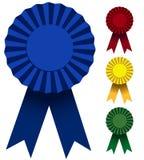 Award Ribbons Stock Photography