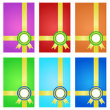 Award ribbons with banner. Stock Photography