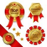 Award Ribbons Set Stock Image