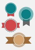 Award ribbons Vector Royalty Free Stock Images