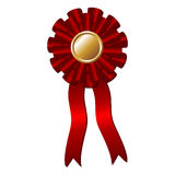 Award rosette Stock Photo