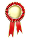 Award rosette Royalty Free Stock Photography