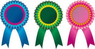 Award Rosette Royalty Free Stock Images