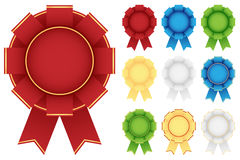 Award rosette Royalty Free Stock Image