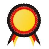 Award rosette , german Stock Images