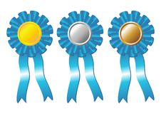 Award rosettes_01 Royalty Free Stock Images