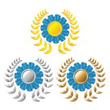 Award rosettes_02 Royalty Free Stock Photography