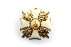 The award of the Russian Empire royalty free stock images
