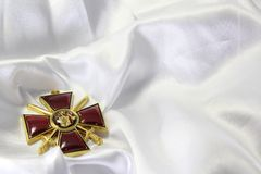 The award of the Russian Empire Royalty Free Stock Image