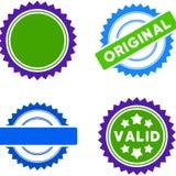 Award Seal Flat Icons Stock Image
