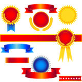 Award Set Stock Photo