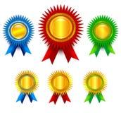 Award set Royalty Free Stock Photography