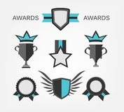 Award Sign and symbol Royalty Free Stock Photos