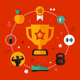 Award sports Royalty Free Stock Photography